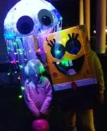 SpongeBob Jellyfishing Homemade Costume
