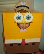 Spongebob Squarepants Homemade Costume