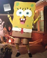 Spongebob Squarepants Homemade Costume