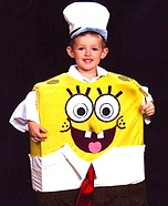 SpongeBob Square Pants Homemade Costume