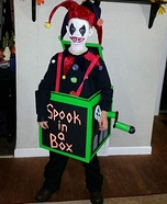 Spook in the Box Homemade Costume