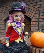 Spooky Little Ringmaster Homemade Costume