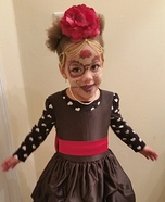 Spooky Princess Homemade Costume
