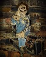 Spooky Scarecrow Homemade Costume