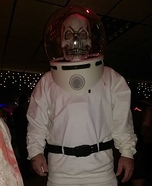 Spooky Space Kook Homemade Costume