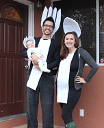 Spoon, Fork and Spork Family Homemade Costume