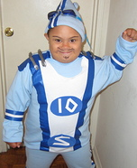 Sportacus Homemade Costume