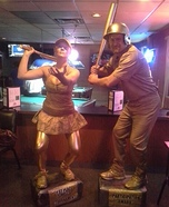 Coolest couples Halloween costumes - Sports Trophies Costume