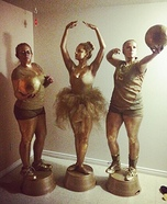 Sports Trophies Group Homemade Costume