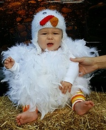 Spring Chick Homemade Costume