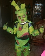 Spring Trap FNAF Homemade Costume