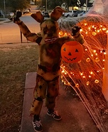 Springtrap from Five Nights at Freddy's Homemade Costume