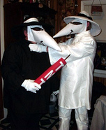 Coolest couples Halloween costumes - Spy vs. Spy Costume