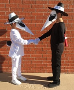 Spy vs Spy Homemade Costume