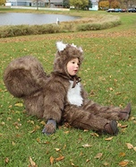 Squirrel Homemade Costume
