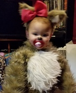 Squirrel Baby Homemade Costume