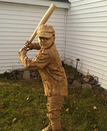 Stan Musial Statue Homemade Costume