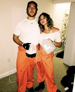 Stanley and Zero from Holes Homemade Costume