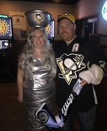 Stanley Cup & Hockey Player Homemade Costume