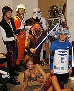 Group costume ideas - Star Wars Characters Costume