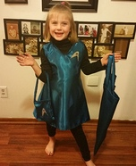 Star Trek Vulcan Girl Homemade Costume