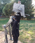 Star Wars AT-ST Homemade Costume