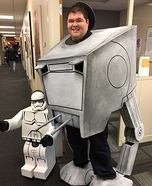 Star Wars ATST & Storm Trooper Homemade Costume