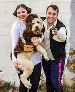 Star Wars Chewie, Han, Leia Homemade Costume