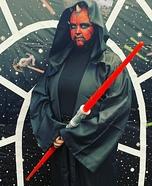 Star Wars Darth Maul Homemade Costume