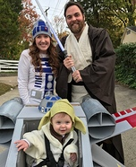 Star Wars Family Halloween Costume DIY