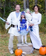 Star Wars Family Homemade Costume