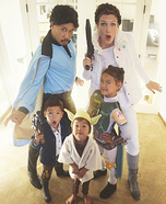 Star Wars Family Homemade Costume