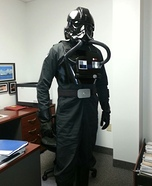 Star Wars Imperial TIE Fighter Pilot Homemade Costume