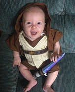 Star Wars Jedi Baby Costume