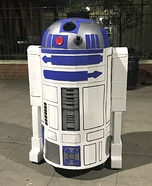 R2-D2 Homemade Costume