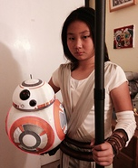 Star Wars Rey & BB-8 Homemade Costume