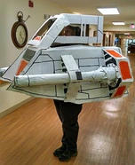 Star Wars Snow Speeder Homemade Costume