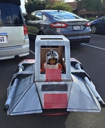 Star Wars Snowspeeder Homemade Costume