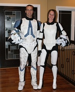 Star Wars Stormtroopers Couples Costume