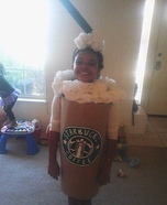 Homemade Starbucks Costume