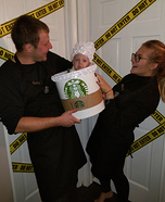 Starbucks Homemade Costume