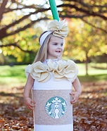 Starbucks Baby Homemade Costume