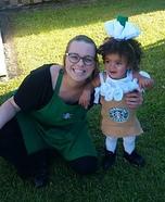 Starbucks Barista and Frappuccino Homemade Costume