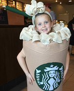 Starbucks Cutie Homemade Costume