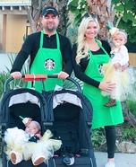 Starbucks Family Homemade Costume