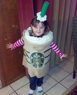 DIY Starbucks Frappuccino Costume