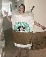 Starbucks Frappuccino Homemade Costume