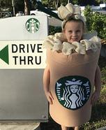 Starbucks Latte Homemade Costume