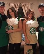 Starbucks Team Homemade Costume