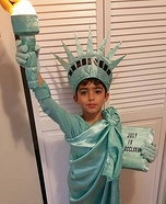 Statue of Liberty Halloween Costume